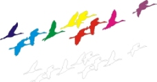 仙鹤矢量图图片