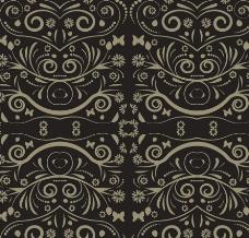无缝古典花纹欧式花纹底纹图片