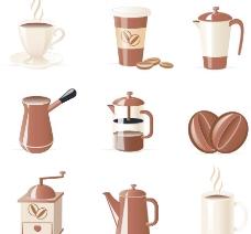 咖啡用品图标图片