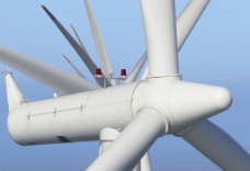 风车发电图片
